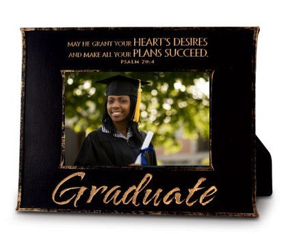 Graduate Linen Textured Photo Frame