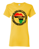 Black History Happens Everyday Women's T-Shirt by RBG Forever (Yellow)