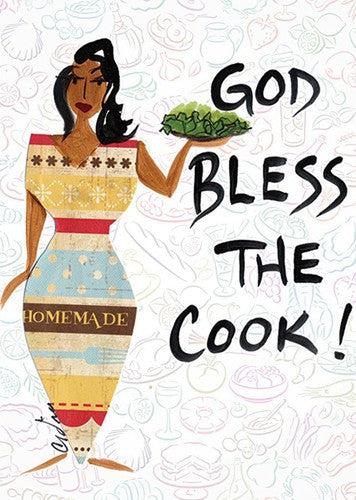 God Bless the Cook Magnet by Cidne Wallace