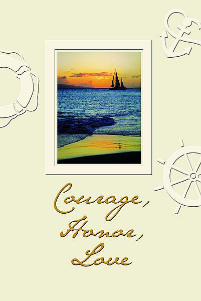 Courage, Honor, and Love Box Set of Father's Day Cards
