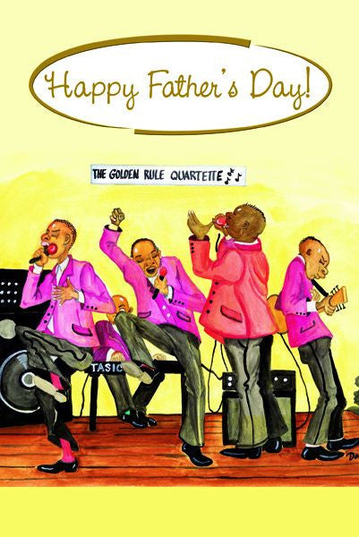 Happy Father's Day: African American Father's Day Card
