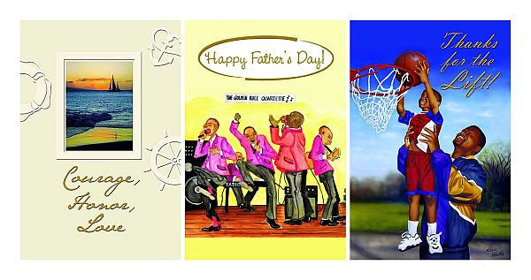 The Assorted Box Set of Father's Day Cards