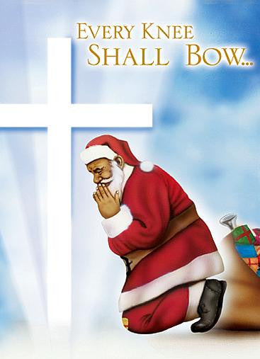 Every Knee Shall Bow: African American Christmas Card