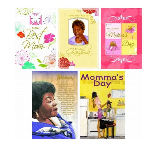 Assorted Box Set #2: African American Mother's Day Cards
