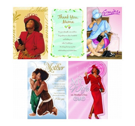 Assorted Box Set #3: African American Mother's Day Cards