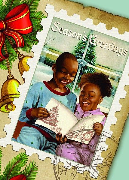 Season's Greetings: African American Christmas Card