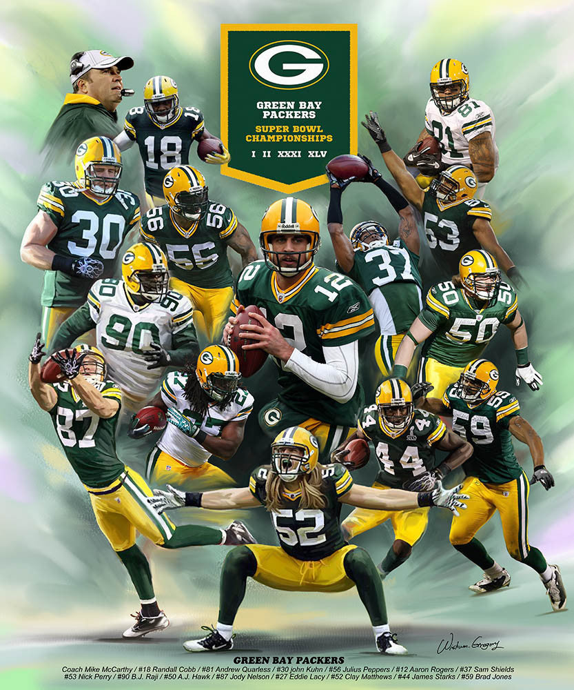 Green Bay Packers (2014) by Wishum Gregory