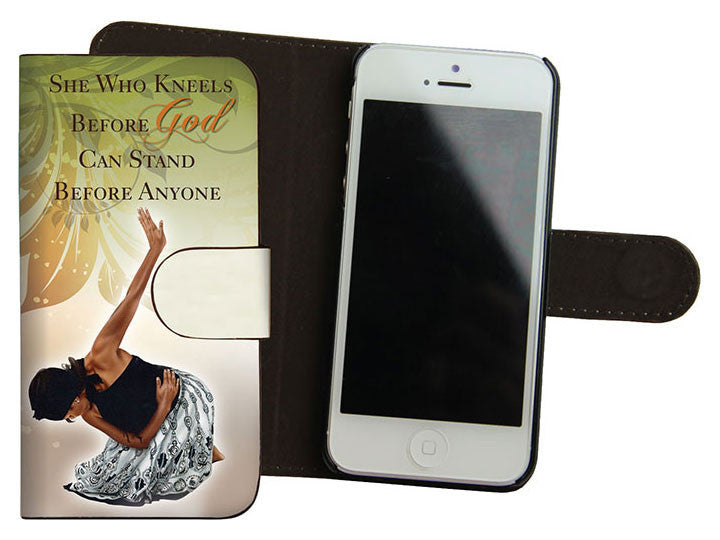 She Who Kneels Iphone 5 Cover by Gregory Perkins