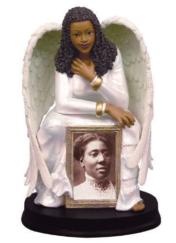 African American Guardian Angel Frame by Positive Image Gifts