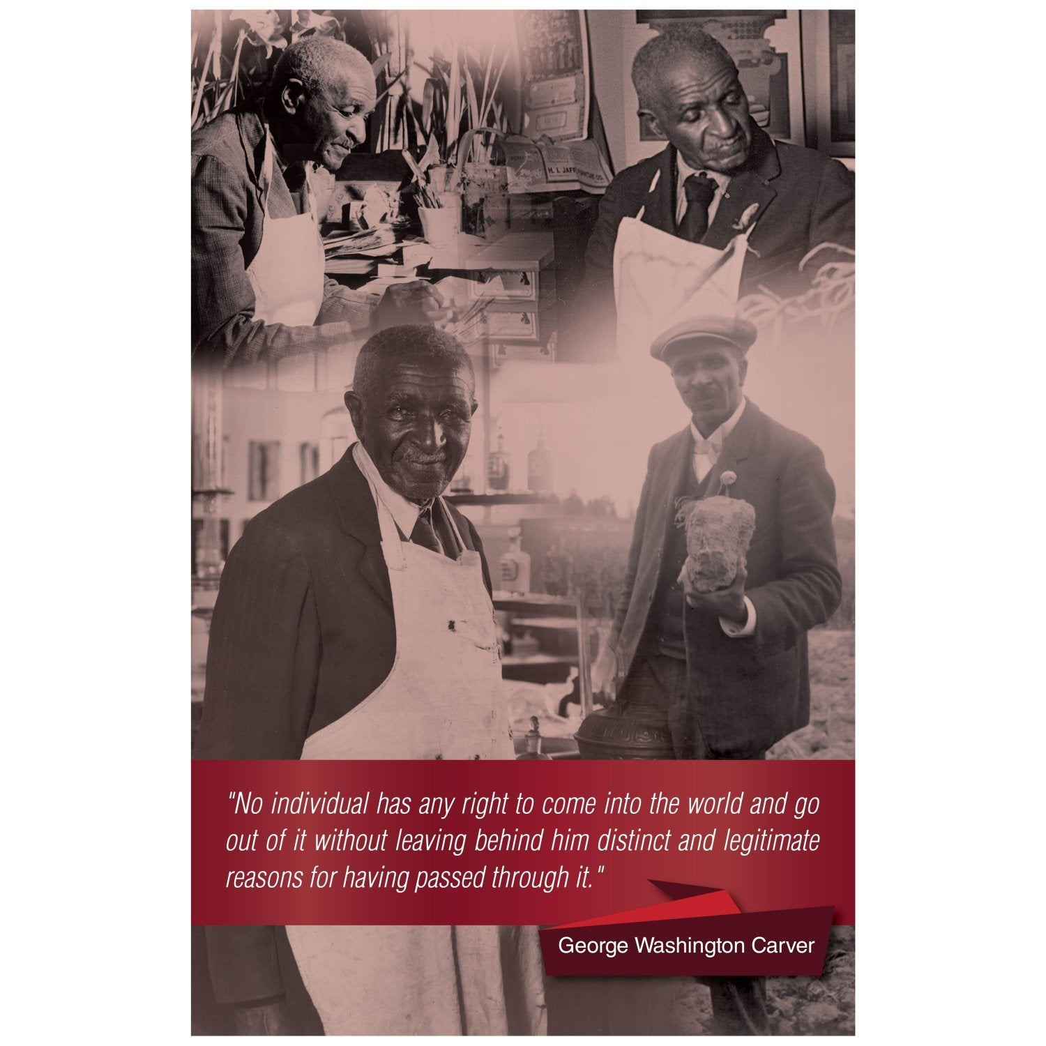 George Washington Carver: Legacy by Sankofa Designs