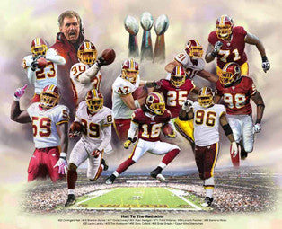Hail to the Redskins by Wishum Gregory