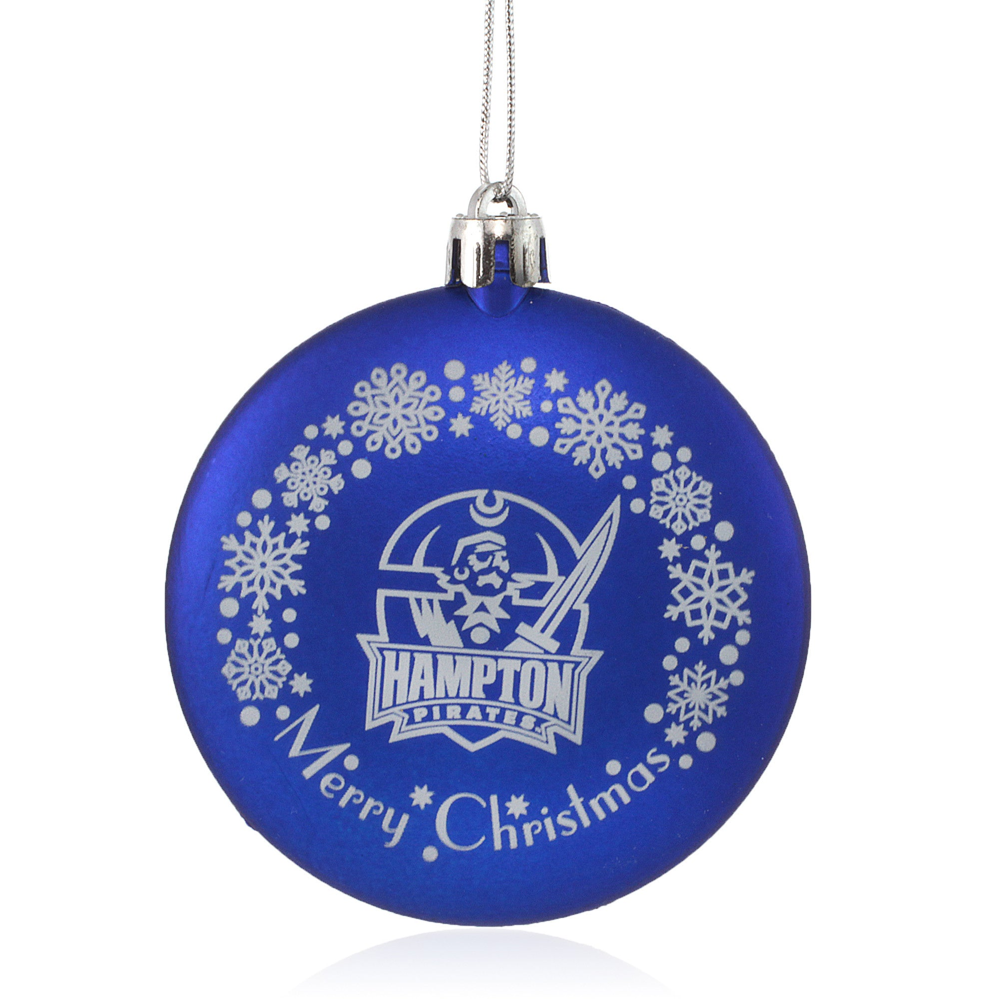Hampton University Pirates Christmas Ornament