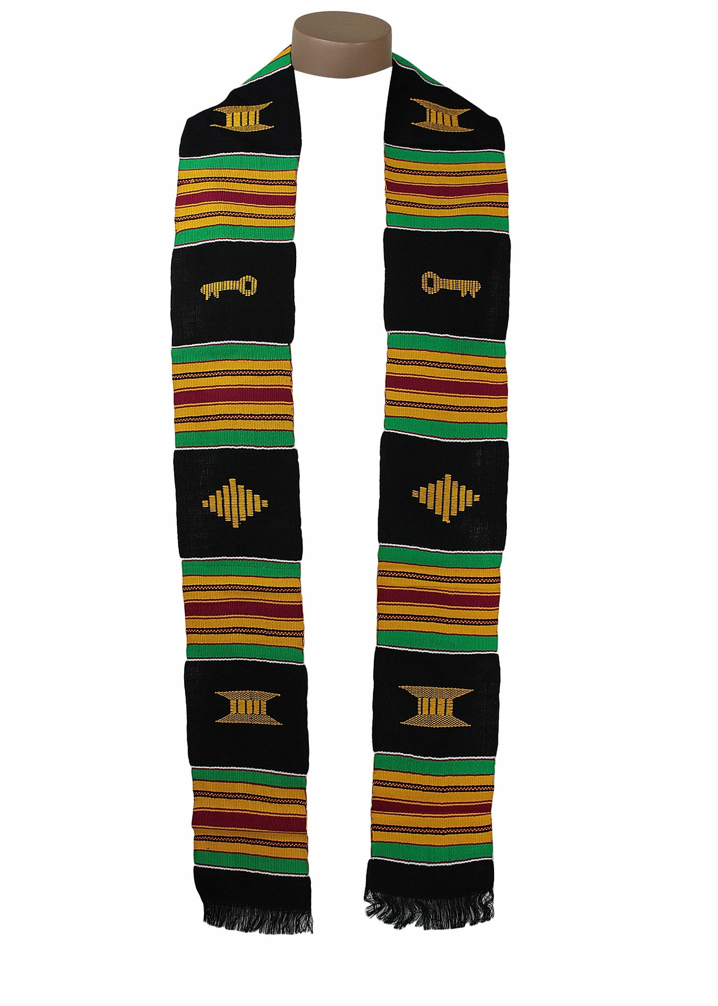 Traditional Kente Cloth Stole by Gold Coast Africa