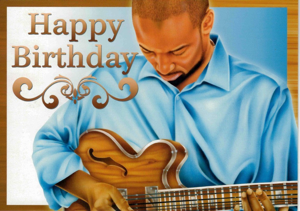 Happy Birthday: African-American Birthday Card