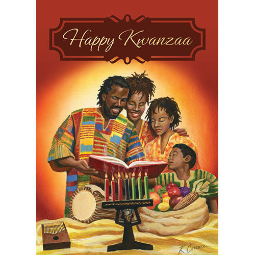 Happy Kwanzaa: Kwanzaa Greeting Card Box Set