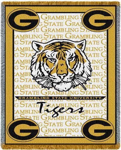 Grambling State University Tapestry Throw