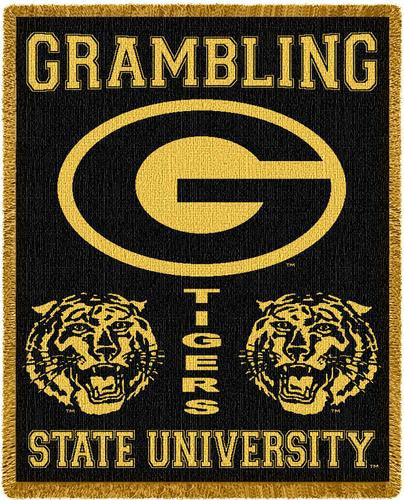 Grambling State University Tapestry Throw II