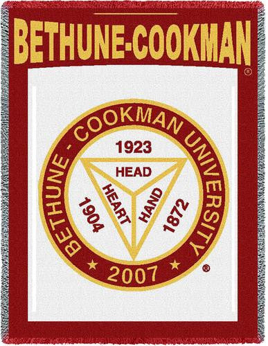 Bethune-Cookman University Tapestry Throw