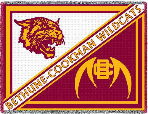 Bethune-Cookman University Tapestry Throw II