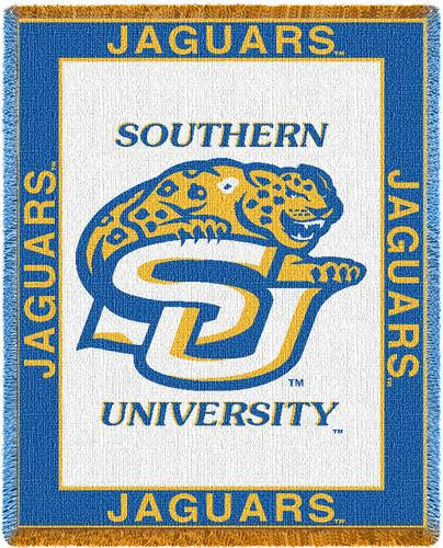 Southern University Tapestry Throw