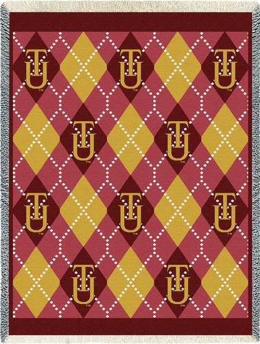 Tuskegee University Tapestry Throw
