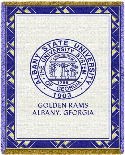 Albany State University Tapestry Throw