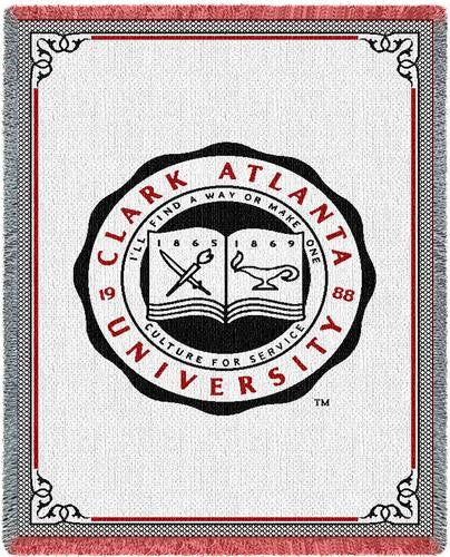 Clark Atlanta University Tapestry Throw