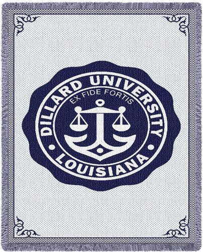 Dillard University Tapestry Throw