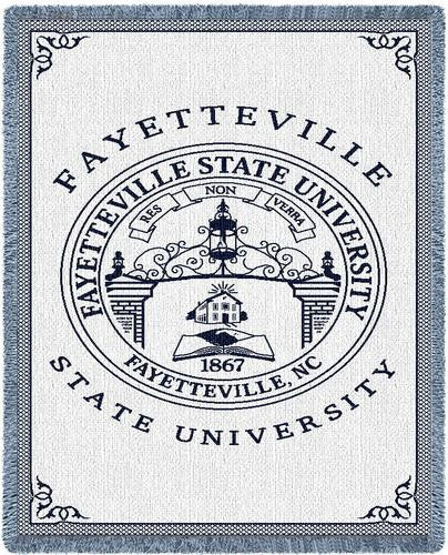 Fayetteville State University Tapestry Throw