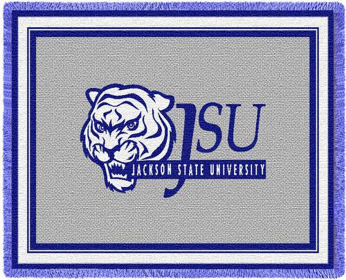 Jackson State University Tapestry Throw
