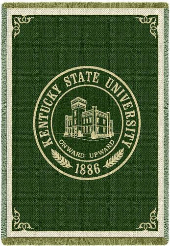 Kentucky State University Tapestry Throw