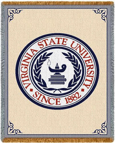 Virginia State University Tapestry Throw
