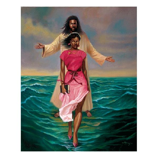 He Walks With Me (African American Jesus) by Sterling Brown