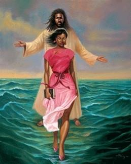 He Walks With Me (African-American Jesus) by Sterling Brown