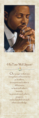 His Time Well Spent (Statement) by Henry Lee Battle