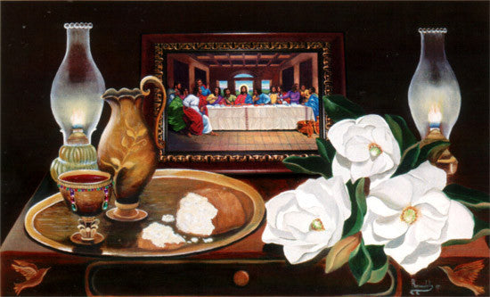 The Last Supper III by Herman Woodall