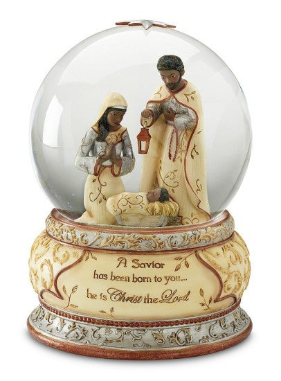 Holy Family Musical Water Globe by Holiday Elements