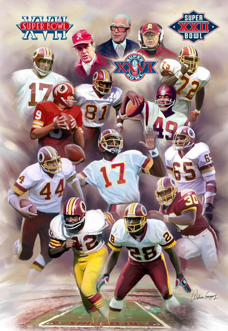 Hog Heaven: Washington Redskins Legends by Wishum Gregory