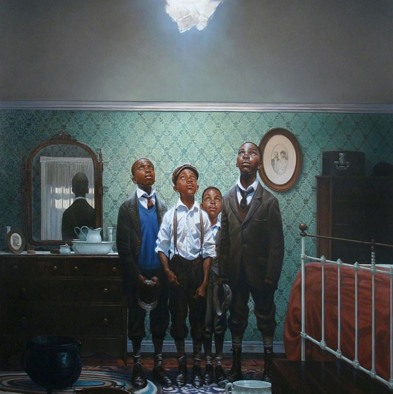 Hole in the Roof by Kadir Nelson