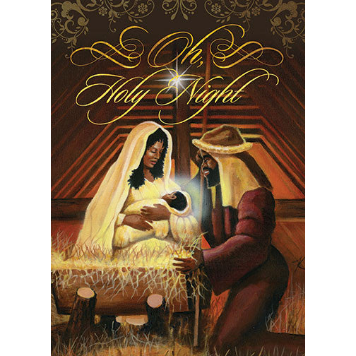 Holy Night: African American Christmas Card