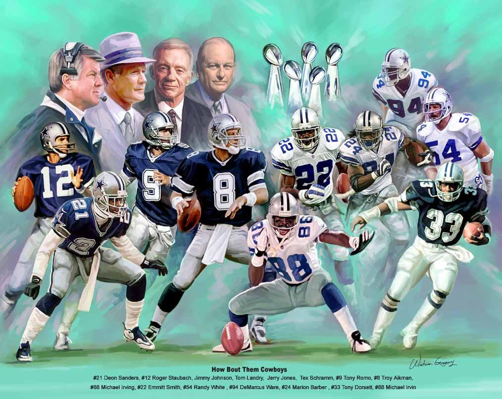 How About Them Cowboys (Dallas Cowboy Legends) by Wishum Gregory