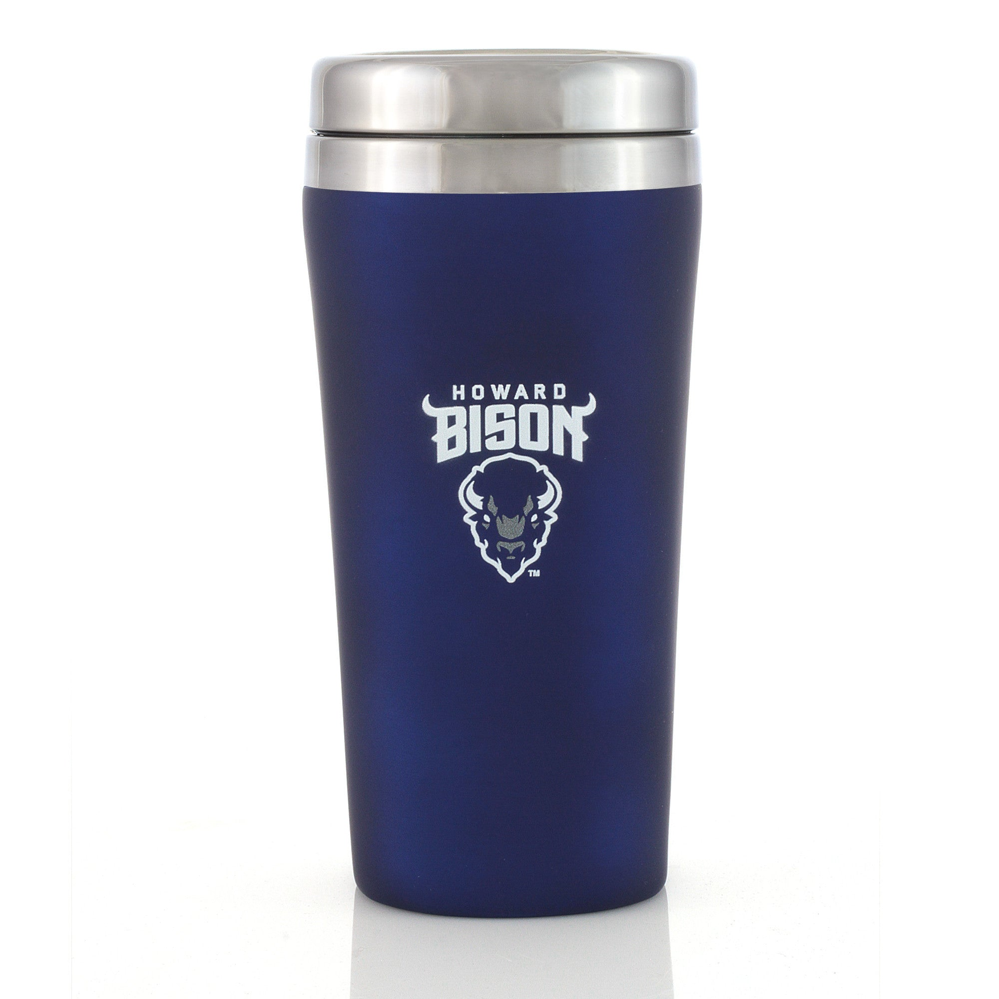 Howard University Bison Tumbler