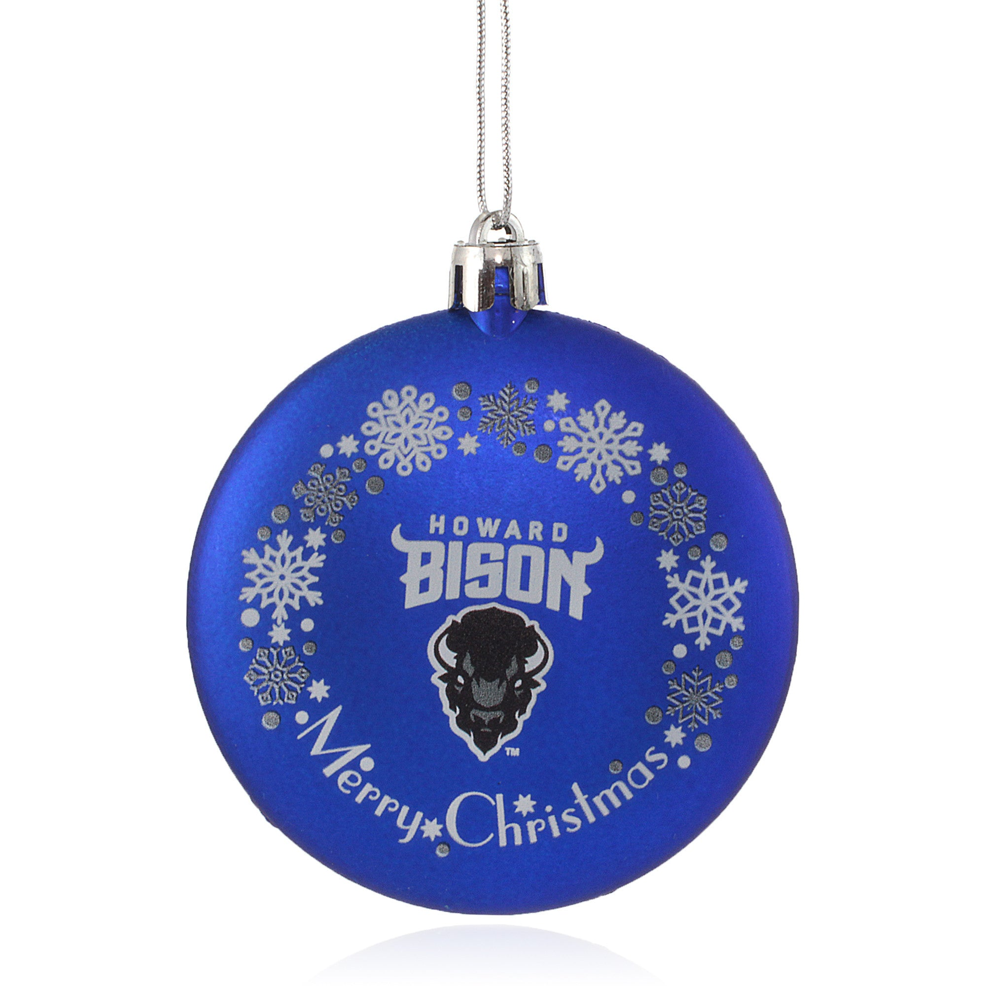 Howard University Bison Christmas Ornament