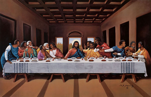 Last Supper By Hulis Mavruk The Black Art Depot