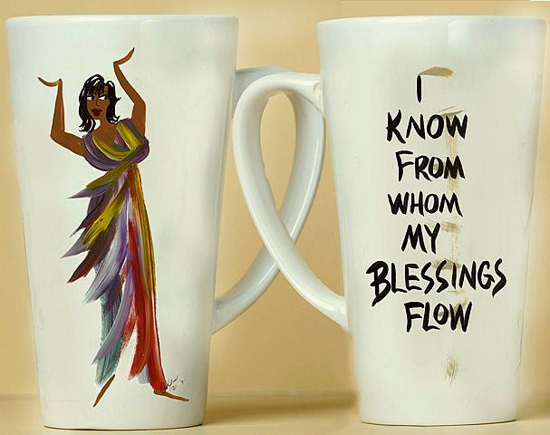 I Know From Whom My Blessings Flow Mug by Cidne Wallace