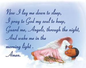 Children's Prayer Wall Hanging