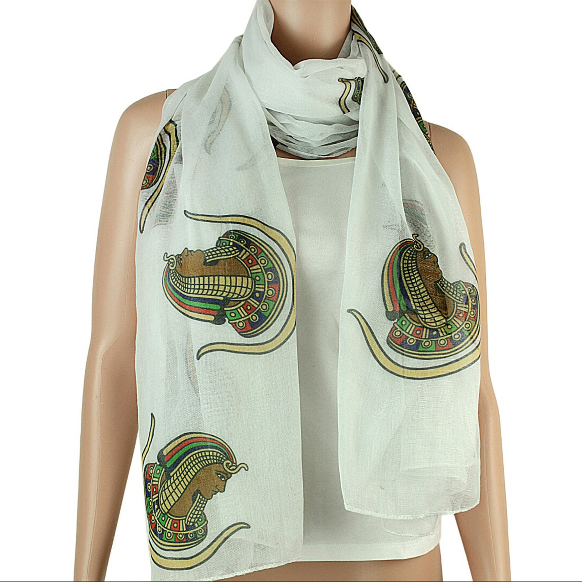 Daughters of the Imperial Court (Daughters of Isis) Oversized Viscose Scarf