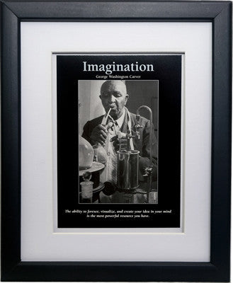Imagination: George Washington Carver by D'azi Productions (Framed)
