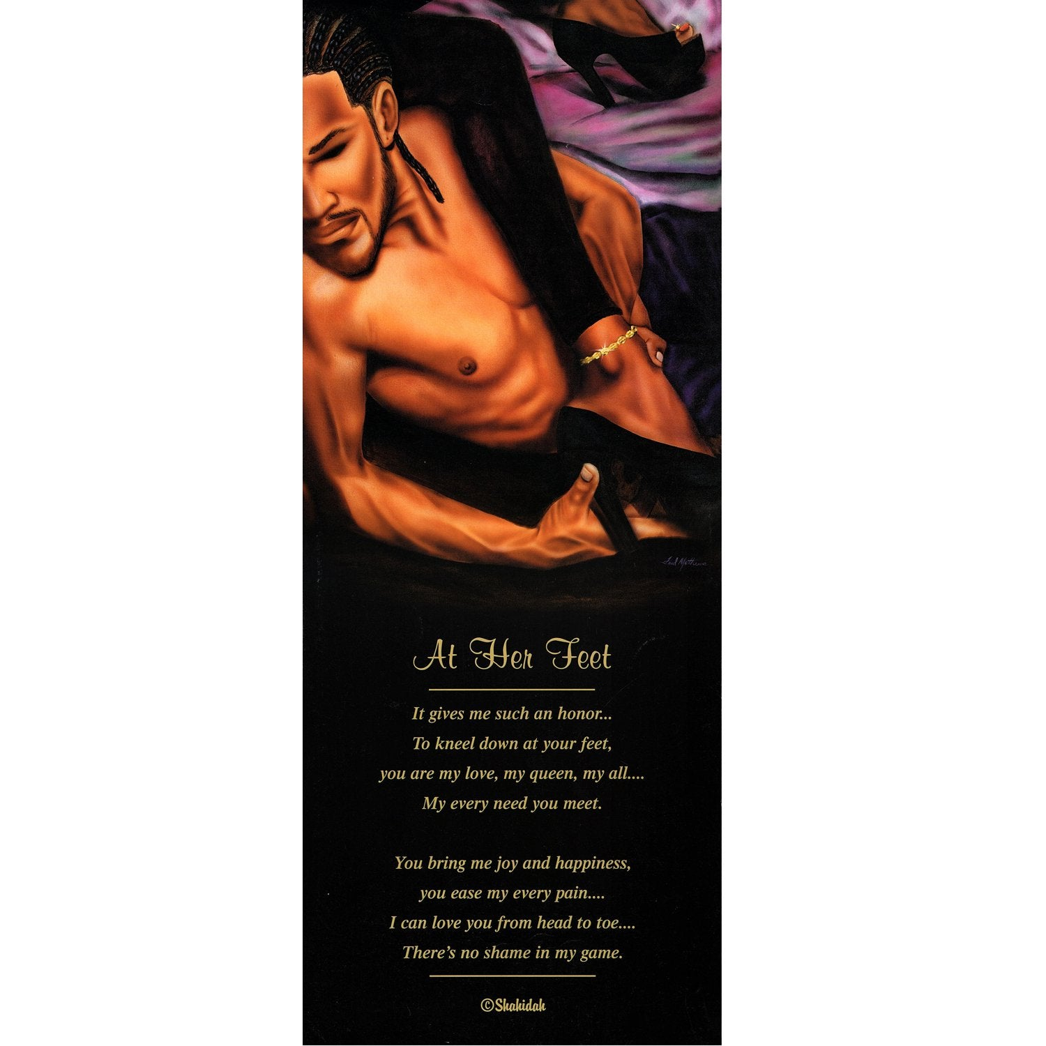 At Her Feet by Fred Mathews and Shahidah