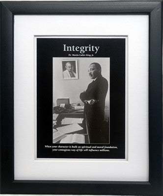 Integrity: Martin Luther King by D'azi Productions (Framed)